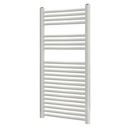Blyss Matt White Towel Warmer (H)1100mm (W)500mm