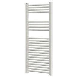 Blyss White Flat Ladder Towel Radiator (H)1200mm (W)450mm