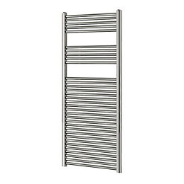 Blyss Chrome Flat Ladder Towel Warmer (H)1600mm (W)600mm
