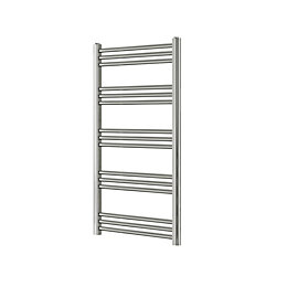 Blyss Leyburn Chrome Towel Radiator (H)1100mm (W)500mm