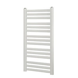 Blyss Wolfsbane White Angled bar flat ladder Towel