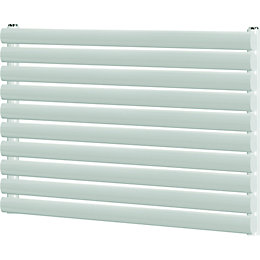 Blyss Wickham Horizontal Radiator White (H)600 mm (W)1000