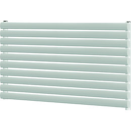 Blyss Wickham Horizontal Radiator White (H)600 mm (W)1200