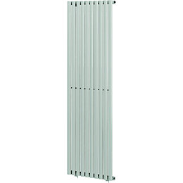 Blyss Wickham Vertical Radiator White (H)1800 mm (W)600