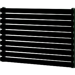 Blyss Wickham Horizontal Radiator Anthracite (H)600 mm (W)1000