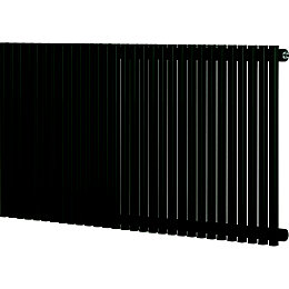 Blyss Thorpe Horizontal Radiator Anthracite (H)600 mm (W)1200