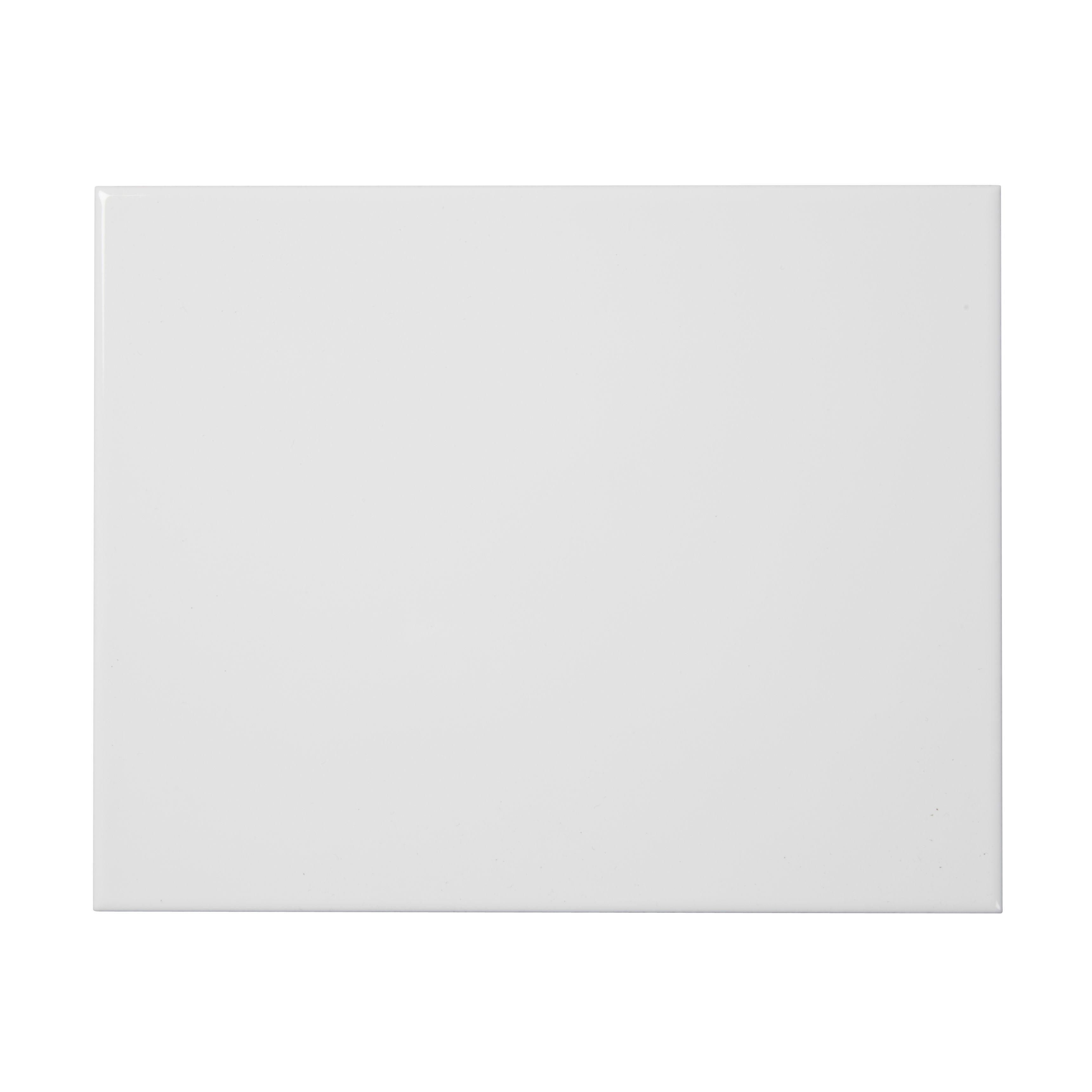 Holborn White Ceramic Wall Tile Pack Of 20 L 250mm W: Spezzia White Gloss Ceramic Wall Tile, Pack Of 20, (L