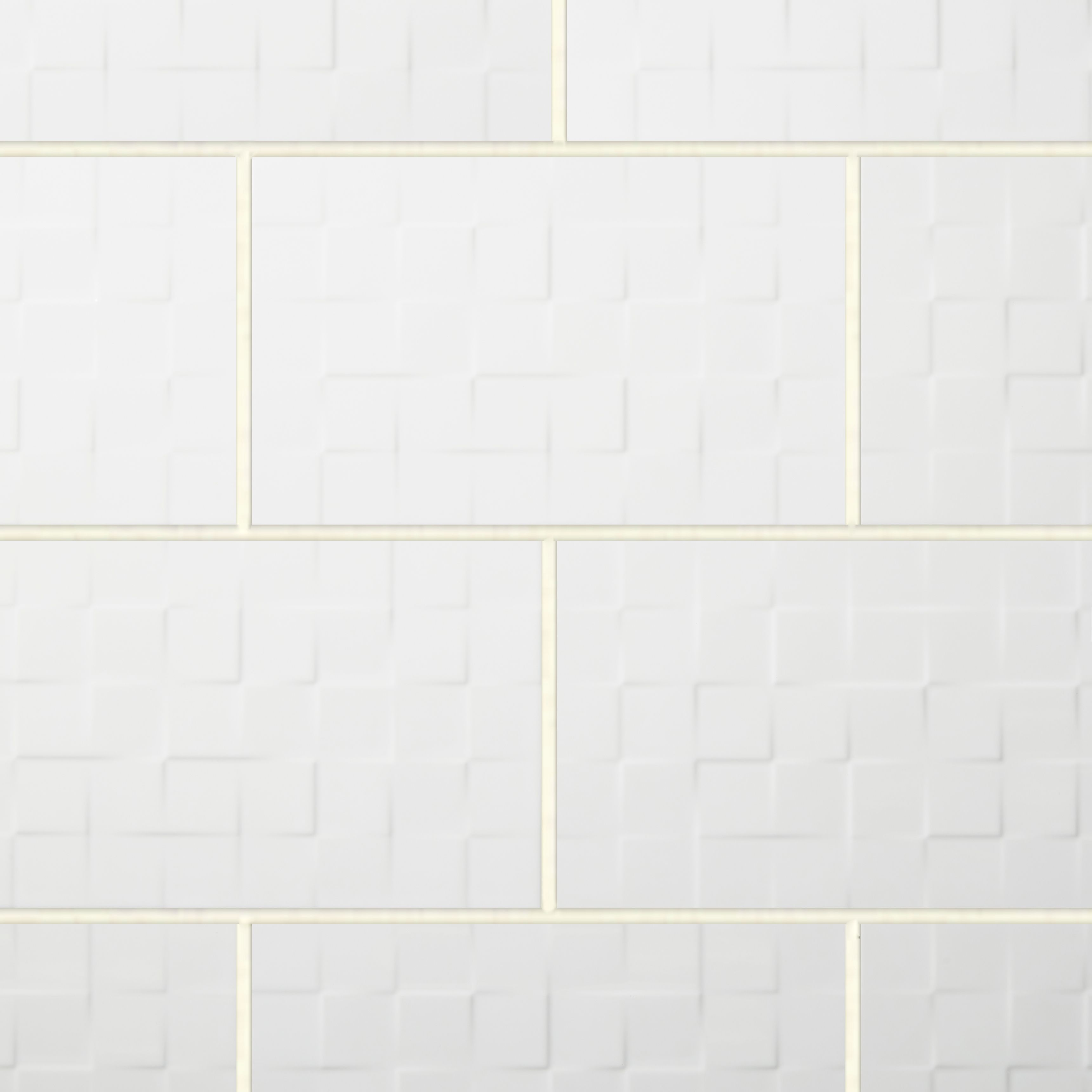 Alexandrina White Gloss Ceramic Wall Tile Pack Of 15 L 400mm W 250mm Departments Diy At B Q