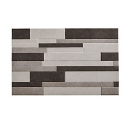 Cimenti Grey Matt Ceramic Wall Tile, Pack of