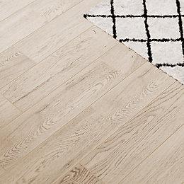 Guigliano Beige Matt Ceramic Floor tile, Pack of