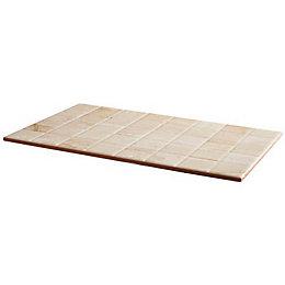 Travertina Beige Matt Ceramic Wall Tile, Pack of