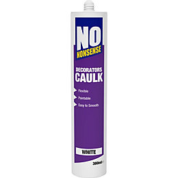No Nonsense 380ml White Decorators Caulk