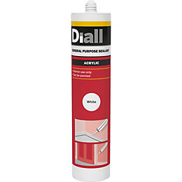 Diall Glazing & frame White General purpose sealant