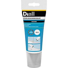 Diall Ready to Use Sanitary & Kitchen Sealant