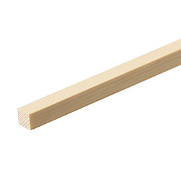 Smooth Stripwood (T)15mm (W)15mm (L)900mm, Pack of 1