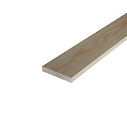 Smooth Stripwood (T)21mm (W)92mm (L)900mm, Pack of 1
