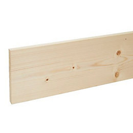 Stick timber (T)18mm (W)144mm (L)2400mm Pack of 1
