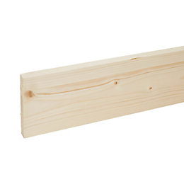 Stick timber (T)18mm (W)119mm (L)2400mm Pack of 4