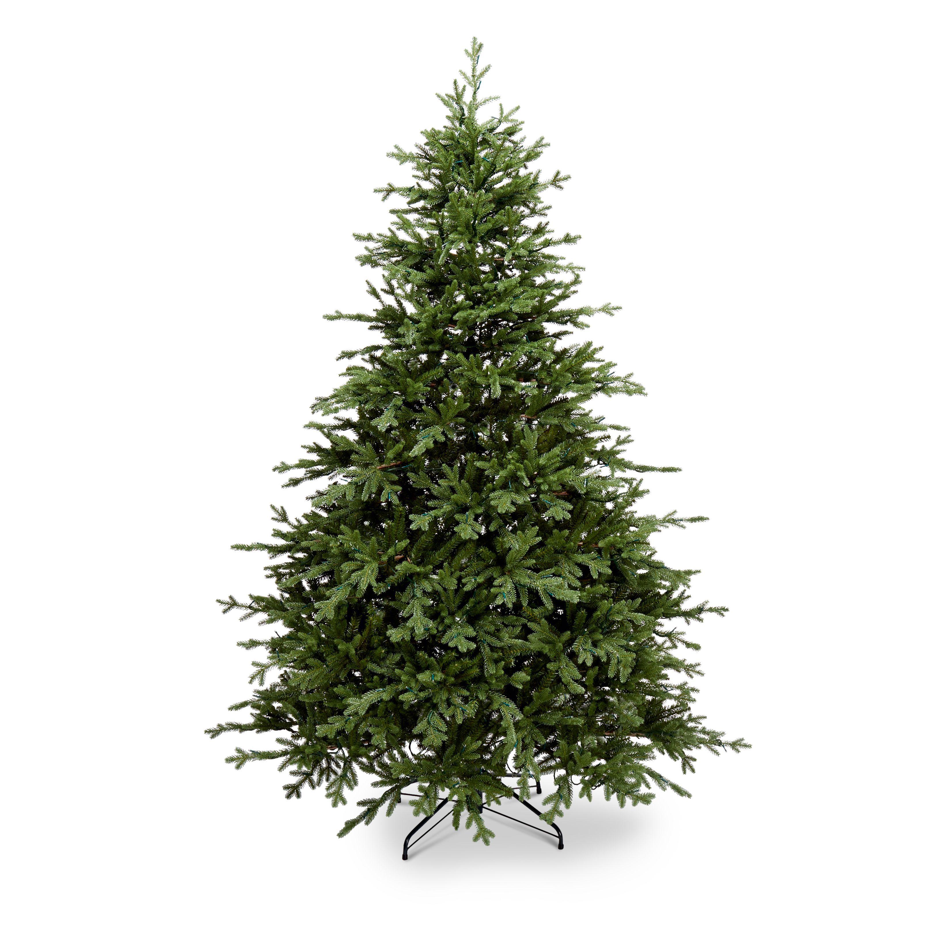 7 5 Ft Thetford Pre Lit Led Christmas Tree Departments Diy At B Q