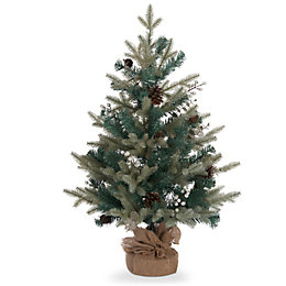 2ft Winterfold Winter Wonderland Table Top Tree