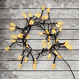 50 Warm White LED Fairy String Lights