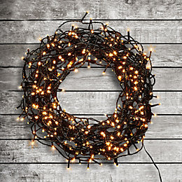 400 Warm White LED String Lights