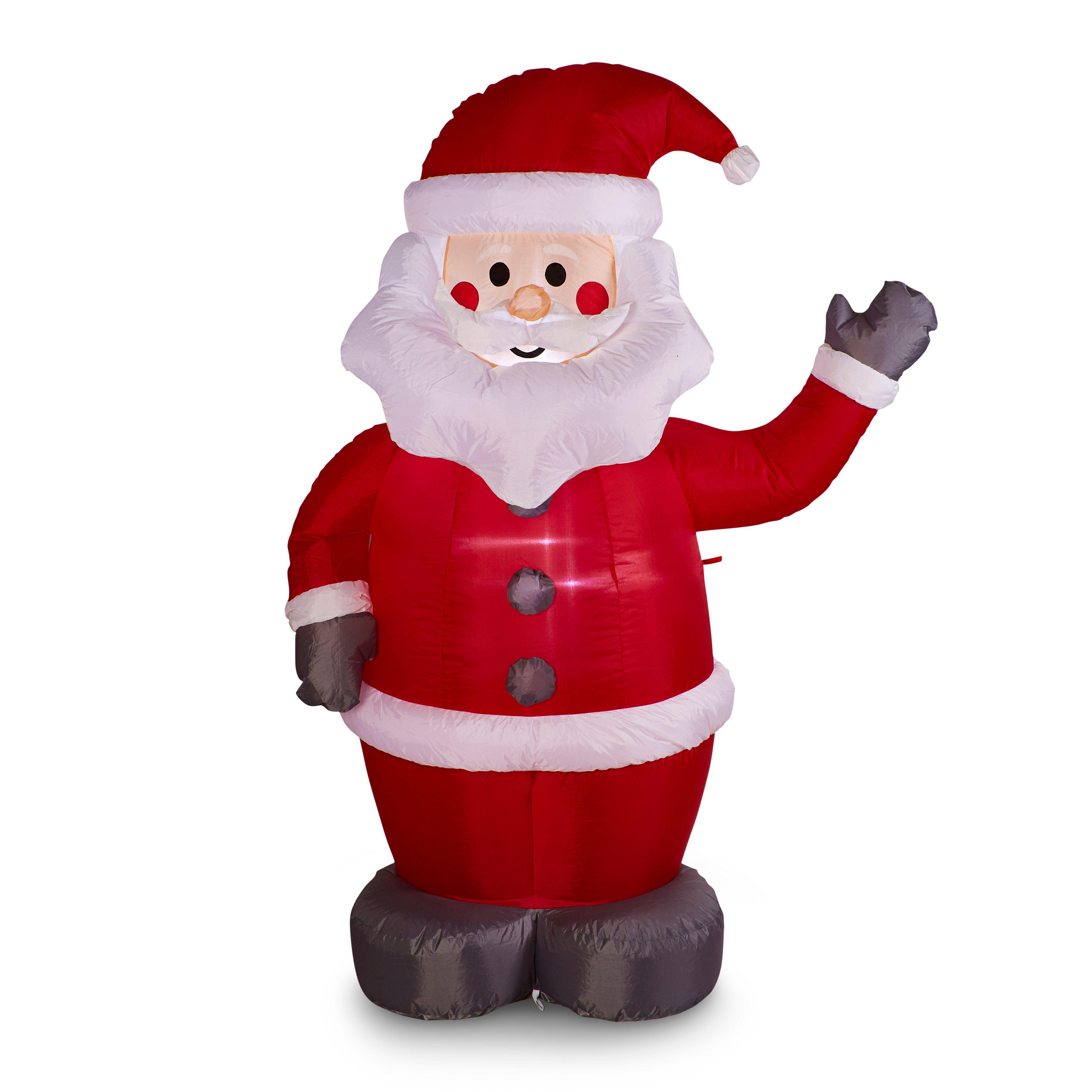 5ft Led Inflatable Santa Departments Diy At B Amp Q