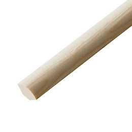 Pine Quadrant moulding (T)6mm (W)6mm (L)2400mm