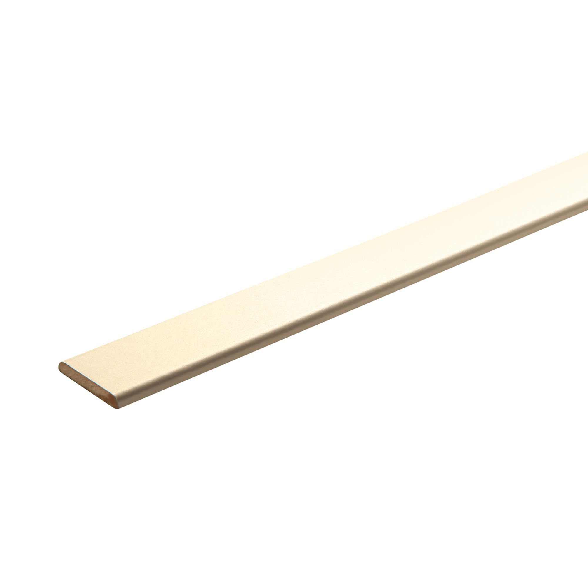 MDF D shape moulding (T)6mm (W)30mm (L)2400mm