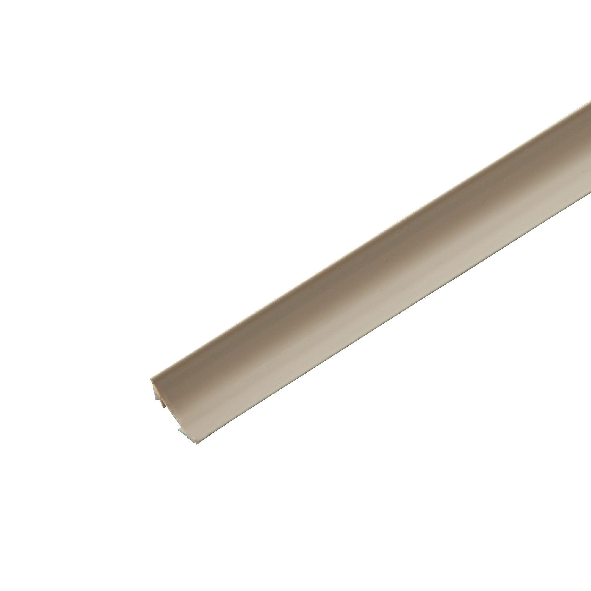 PVC Scotia moulding (T)18mm (W)18mm (L)2400mm