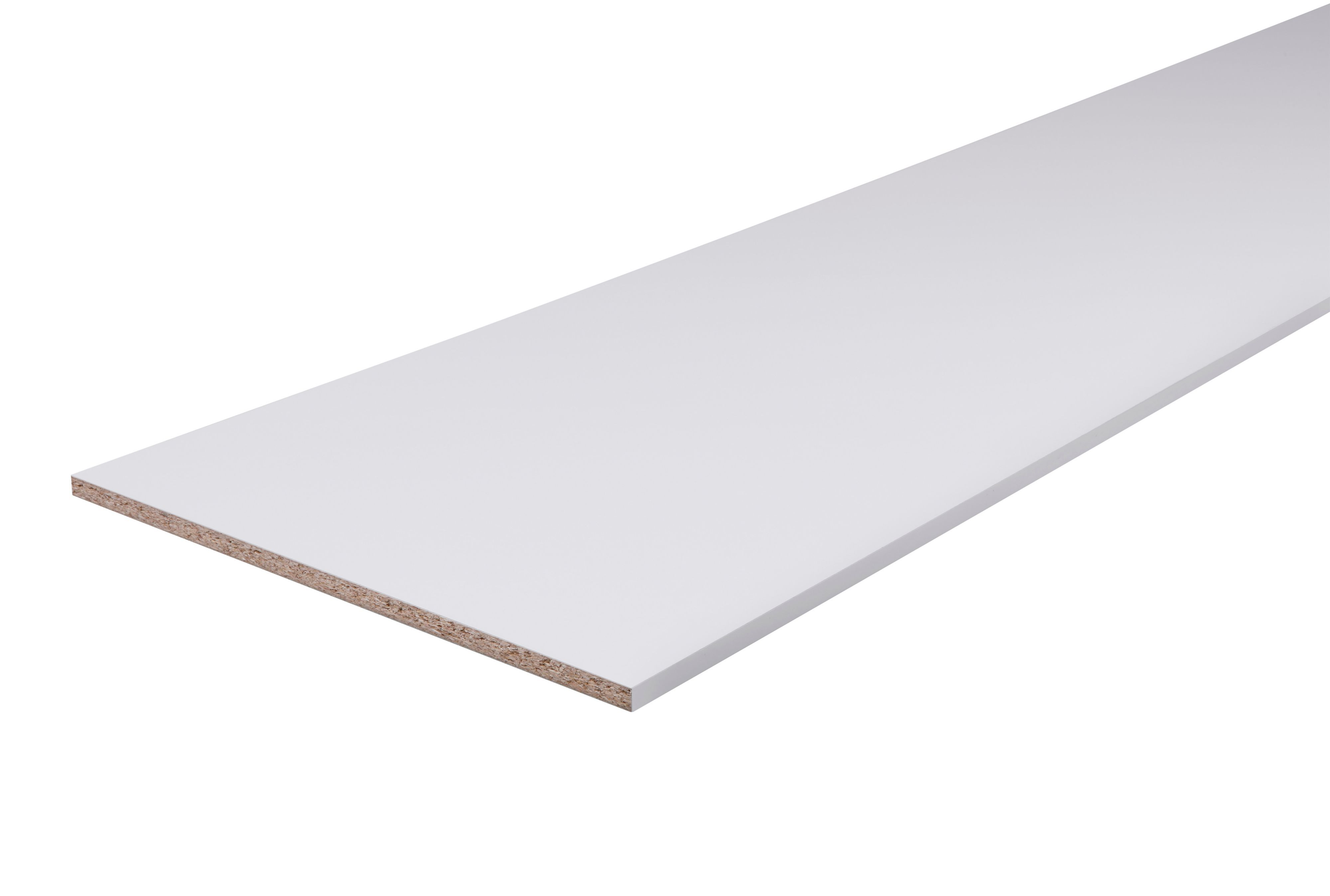 Furniture panel White (L)2500mm (W)600mm (T)18mm