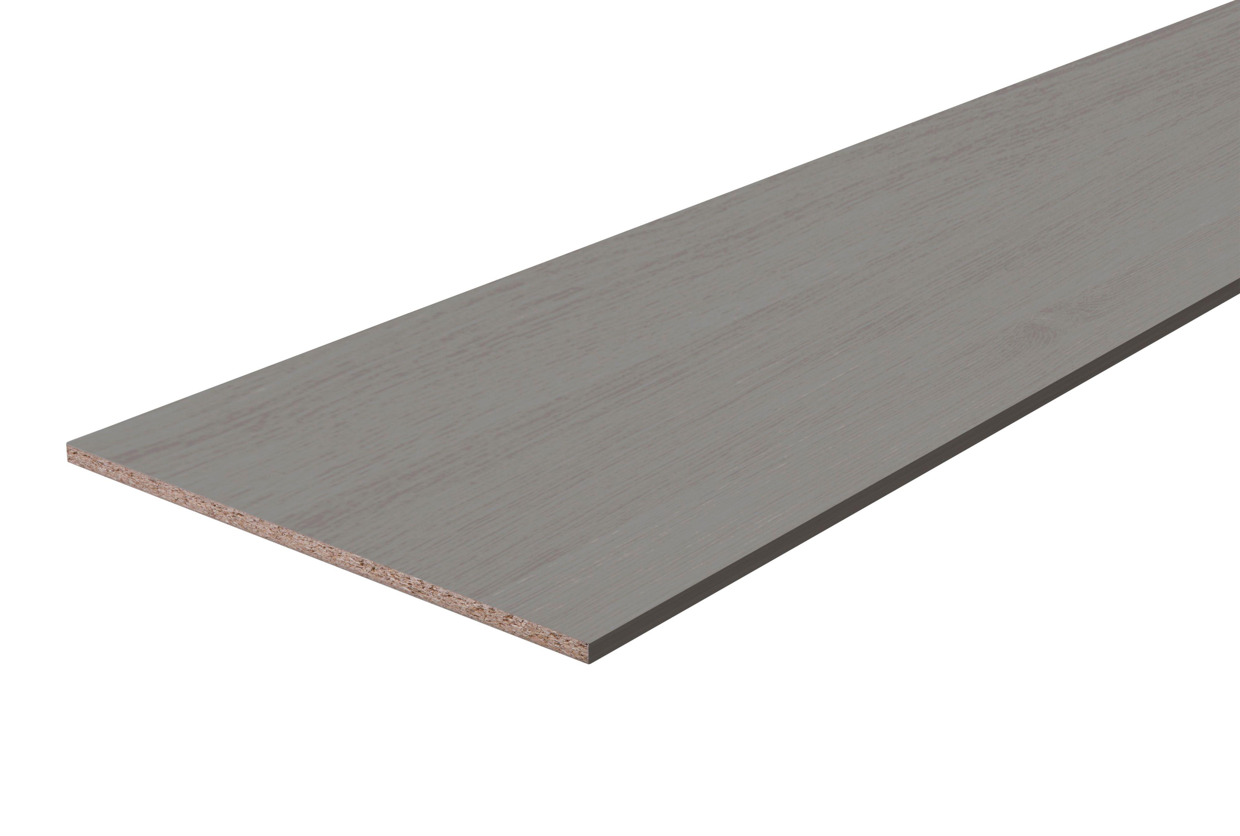 Furniture panel Grey (L)2500mm (W)200mm (T)18mm