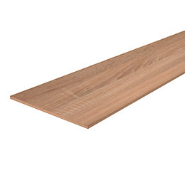 Oak Veneered 4 Sides Edged Furniture Board (L)800mm