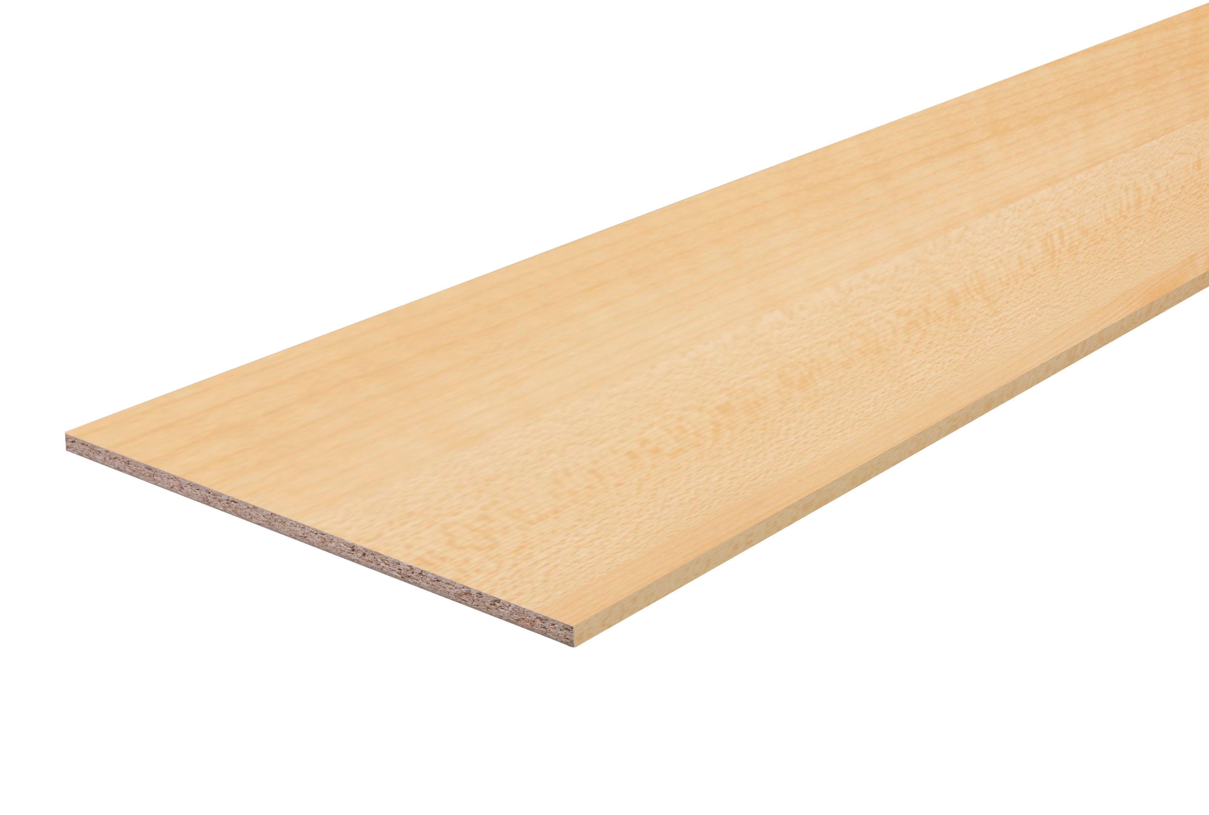 Chipboard Maple Furniture Board L 2500mm W 300mm T 18mm