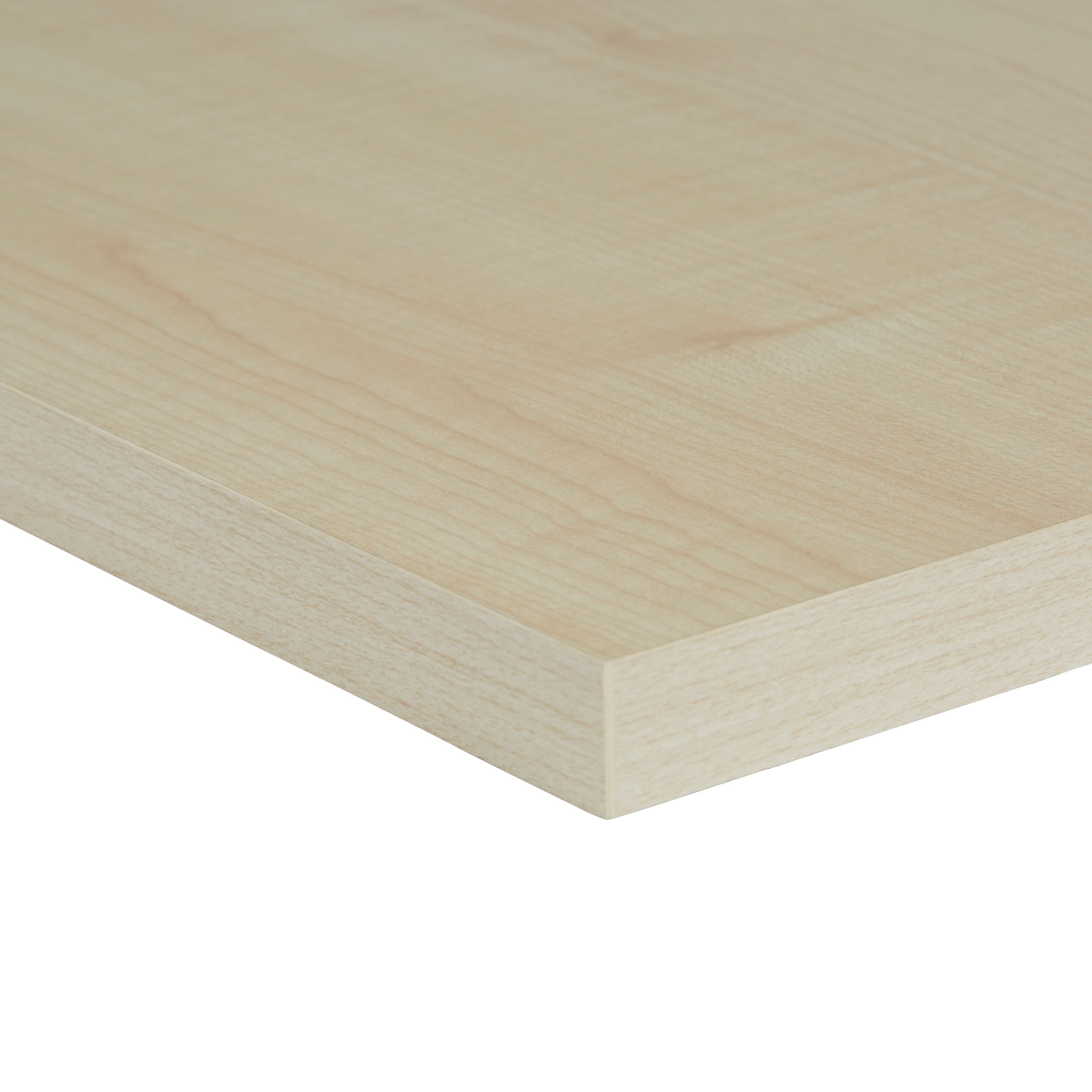 Chipboard Maple Furniture Board L 1200mm W 300mm T 18mm