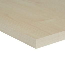 Maple Veneered 4 Sides Edged Furniture Board (L)1200mm