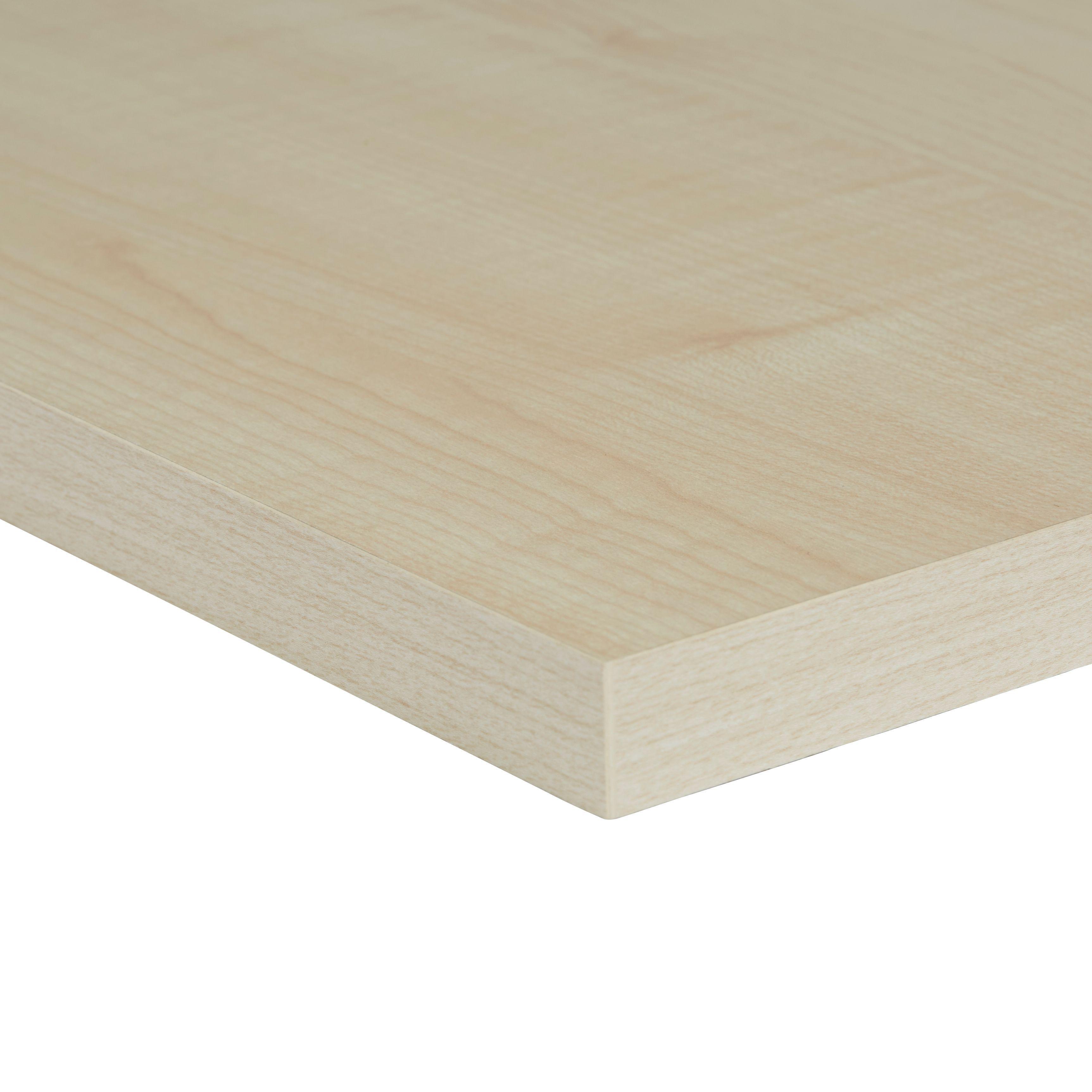 Chipboard Maple Furniture Board L 800mm W 400mm T 18mm