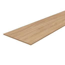 Pale Oak Veneered 4 Sides Edged Furniture Board