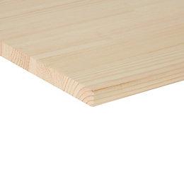 Pine Clear Square Edge Glued Panel (L)2400mm (W)200mm