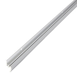 Diall Aluminium & rubber Draught excluder, (L)1050mm