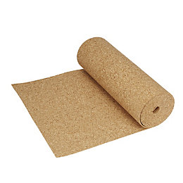Diall Cork Roll, (L)5M (W)0.5 M (T)4mm