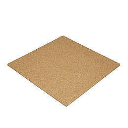 Diall Cork & rubber tile 500mm 500mm 13mm