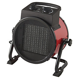 Electric 2500W Red Heater