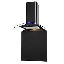 Cooke & Lewis CLCGLEDB60 Black Steel Chimney Cooker