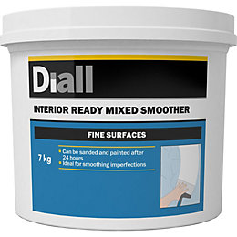 Diall Fine finish Ready mixed Smoothover finishing plaster