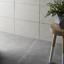 Cimenti Grey Matt Porcelain Floor tile , Sample,