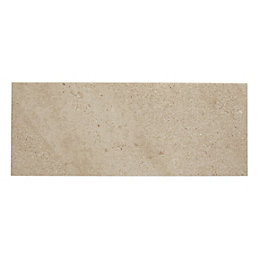 Milestone Beige Matt Plain Ceramic Wall tile, Sample,