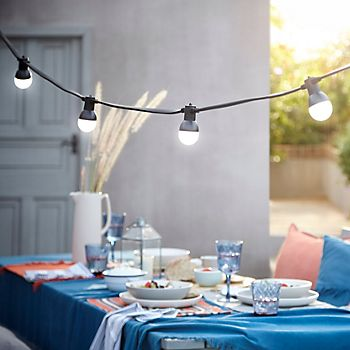 Barnaby garden party lighting