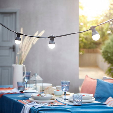 Garden party string lighting · decorative string lights