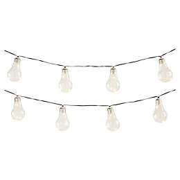 Blooma Fernie Warm white 10 LED String lights